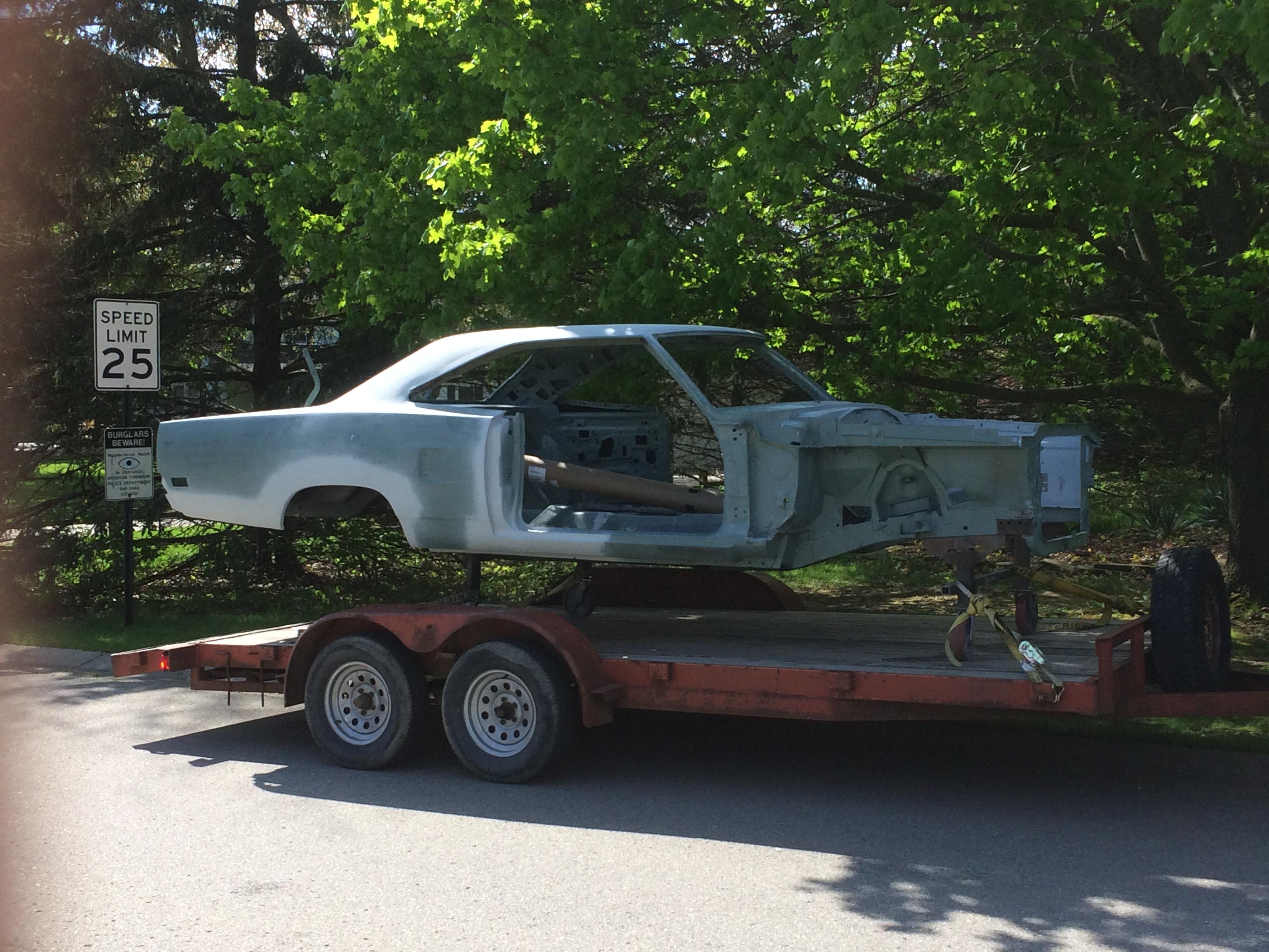 Car Club Inc: Restoration Of 1969 Plymouth
